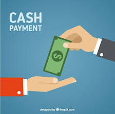 Cash payment accepted by Coast Communication Fleureu
