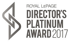 Royal LePage Director's Platinum Award 2017