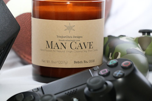Man Cave Candle