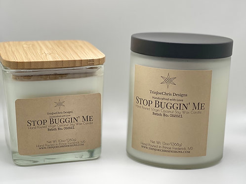 Stop Buggin' Me Insect Repellent Candle
