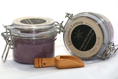 Lavender Lemon Sugar Scrub