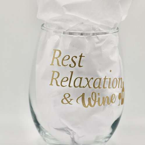 Rest, Relaxation & Wine glass
