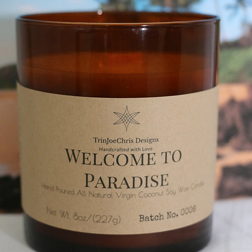 Welcome to Paradise Candle
