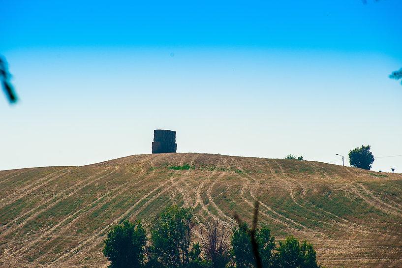 Avvallamento forte Lucarino di Ancona presso Montacuto