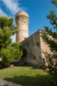 Vecchio faro al Monte Cardeto di Ancona