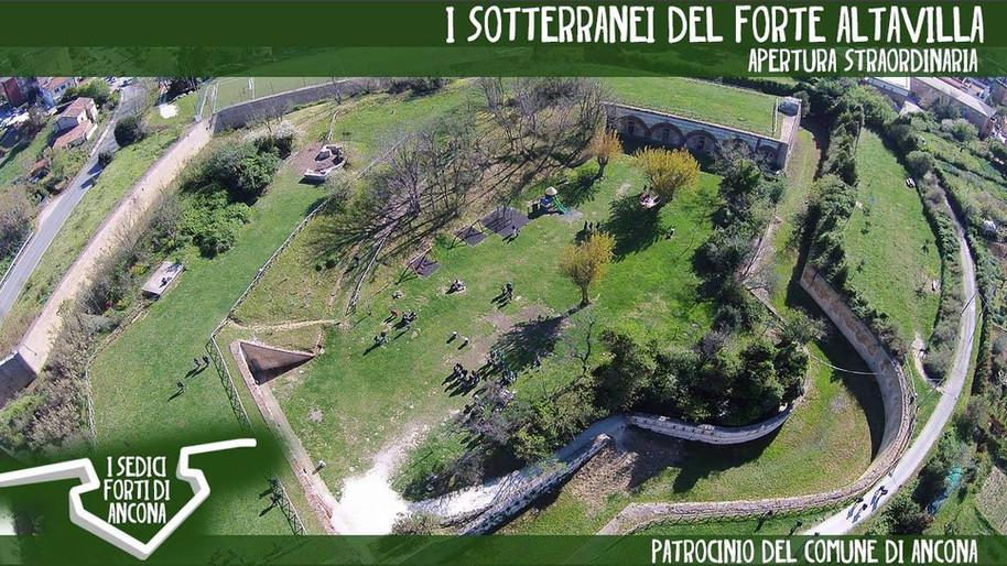 Apertura straordinaria dei sotterranei del Forte Altavilla - 13 ottobre