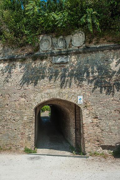 Poterna porta Campo Trincerato Ancona