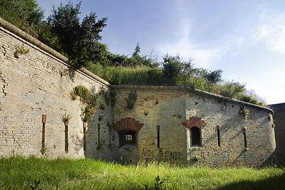 Caponiera Forte Altavilla Ancona Giuseppe Morando fossato scarpa controscarpa pietralacroce ancona marche