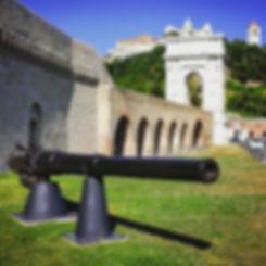 Cannone porto antico Ancona