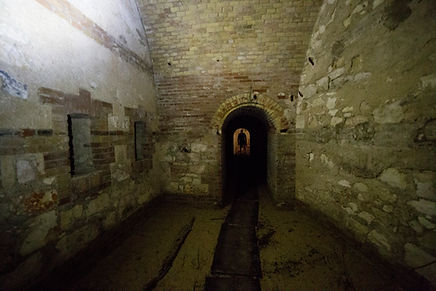 Tunnel galleria collegamento sotterraneo lunetta santo stefano caponiera capponiera