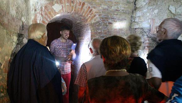 Apertura straordinaria delle gallerie di Forte Scrima