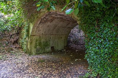 Ripostiglio alla prova del forte Cardeto di Ancona, presso il monte cardeto. Cunicoli, gallerie