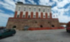 Basamento della Lanterna di Ancona, sede della sanità marittima ospedale marittimo guardia costiera vigili del fuoco pompieri