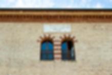 Targa a Morando presso la Caserma Villarey (facoltà di Economia e Scienze social Università Politecnica delle Marche) e Girolamo Pezzoli Genio Capo Sezione