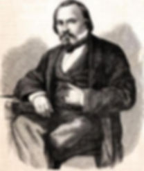 Ritratto di Lorenzo Valerio, commissario straordinario sindaco di Ancona durante la transizione dopo la proclamazione dell'Unità d'Italia, precedendo Fazioli