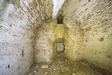 Cannoniera nella faccia destra della Lunetta Santo Stefano di Ancona