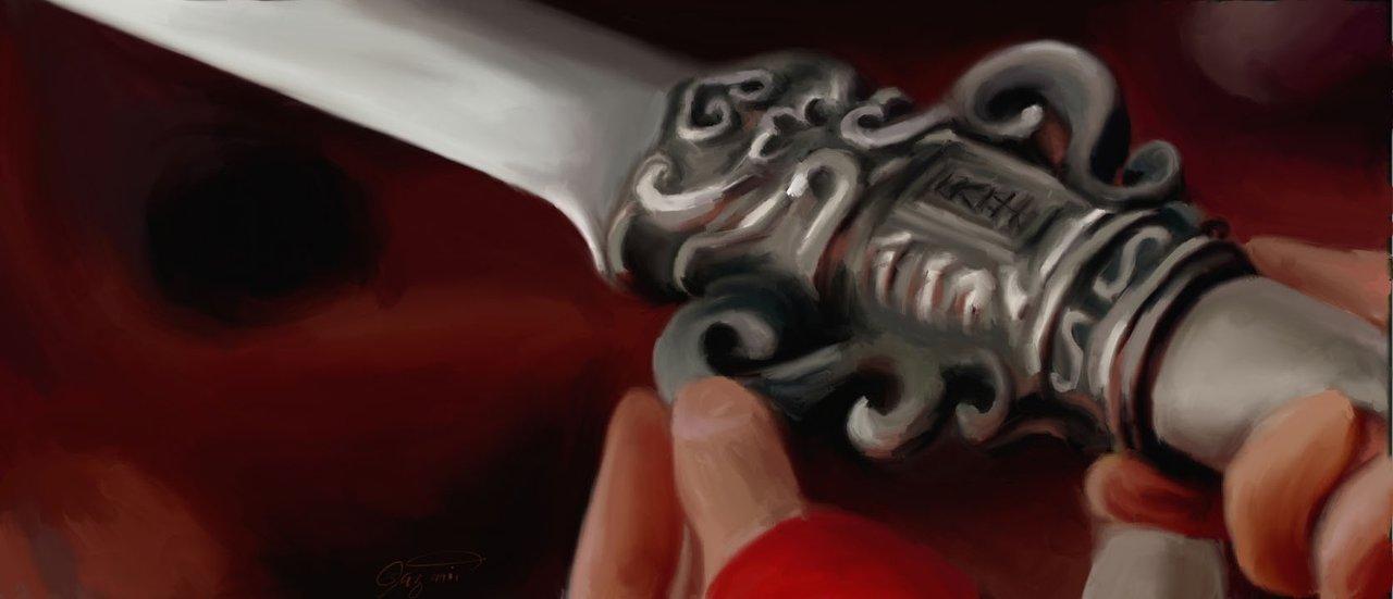 Sword Play Digital Illustration