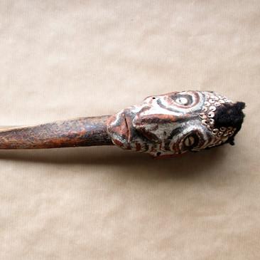 Dagger with modeled mask