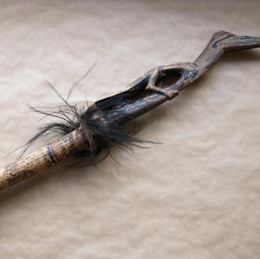 Limetube with bird finial