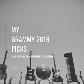 My GRAMMY 2019 Picks