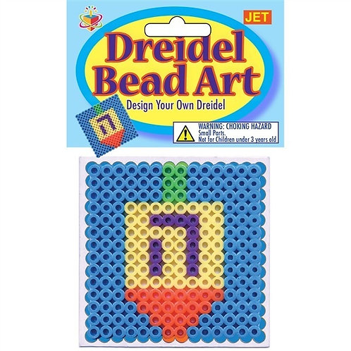 Dreidel Bead Art