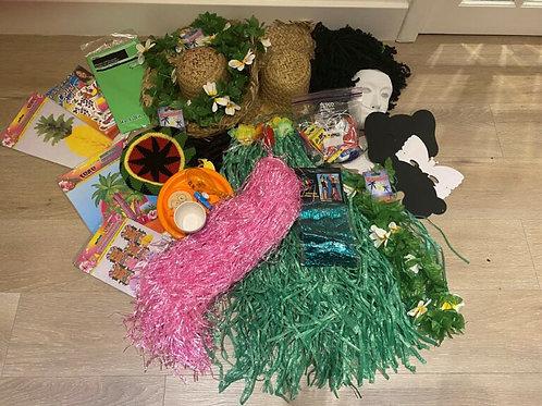 Hawaii themed Purim Pack