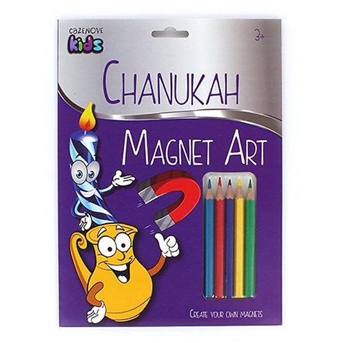Chanukah Magnet Art