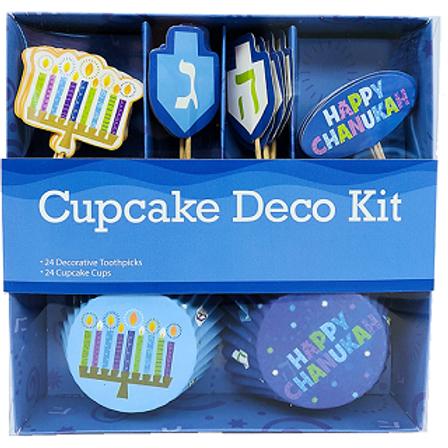 Chanukah Cupcake Deco Kit