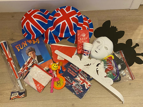 British themed Purim Pack