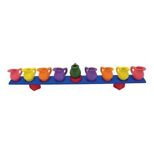 Ceramic Pitcher Menorah (Pack of 12)