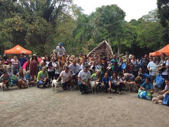 Cãominhada reúne cerca de 200 animais no Campo de São Bento