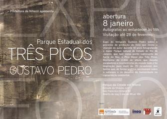 Exposição do fotógrafo Gustavo Pedro no PARNIT