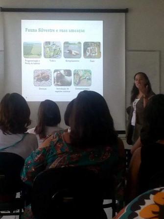 Práticas em Educação Ambiental que acontecem nas Unidades de Educação Infantil da Rede Municipal de