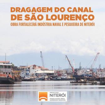 Dragagem do Canal de São Lourenço avança!