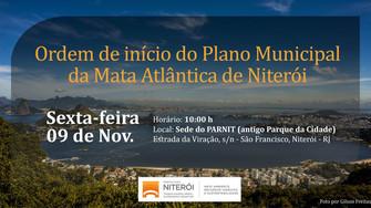 Niterói inicia processo de elaboração do Plano Municipal da Mata Atlântica