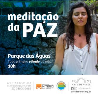 Meditação da Paz no Parque das Águas