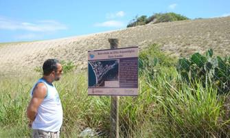 Sítio arqueológico em Itaipu ganha sinalização