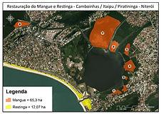 Restauração do Mangue, Restinga Itaipu e Camboinhas