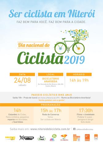 Ser ciclista em Niterói!