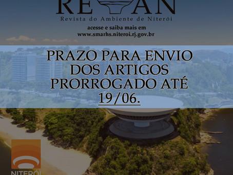 Chamada para novas publicações da 7ª edição da REVAN