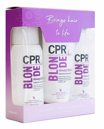 CPR Blonde Solution - Trio Pack