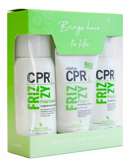 CPR Frizzy Solution : Trio Pack