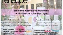 Szkolenie Kosmetyka Naturalna w Gabinecie kosmetycznym