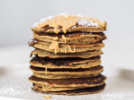 Pancakes à la farine de teff