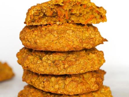 Cookies carrot avoine