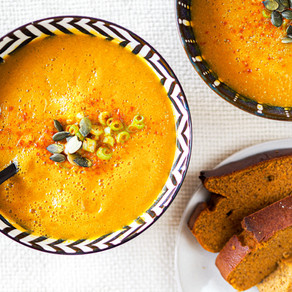 Soupe carottes courgettes