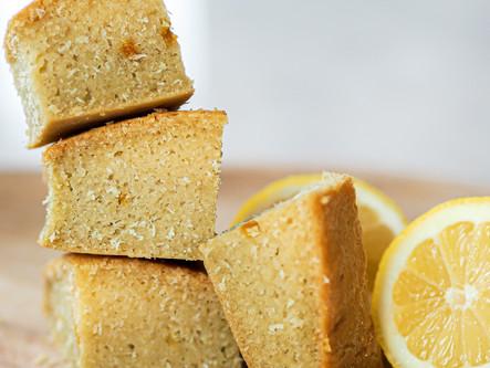 Cake citron noix de coco
