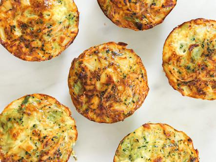 Muffins pomme de terre brocolis