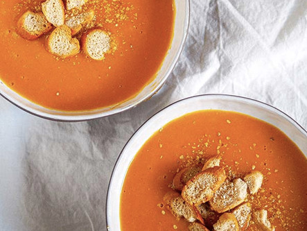 Soupe potiron garam masala