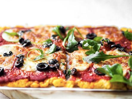 Pizza Mozza à la Polenta